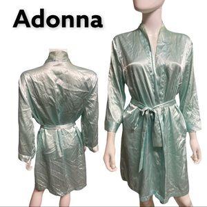 Adonna Silky Robe Kimono Size medium